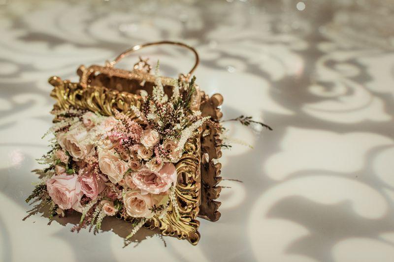 花藝裝飾手拿包