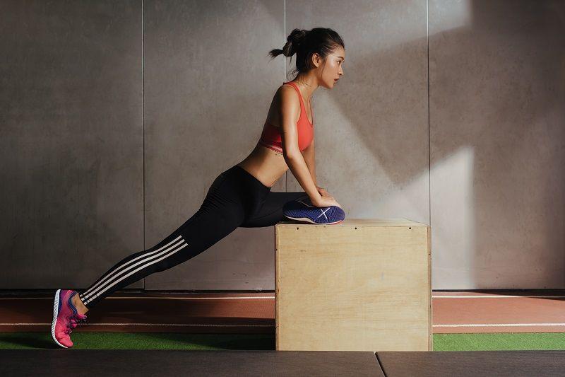 透過不斷的自我挑戰,運動不僅讓她的生命更有意義,也感受到自己一天比一天強悍。也因此,她也絕對不會放棄運動。