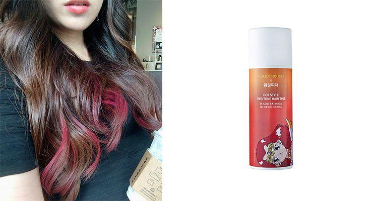 注意事項:噴灑內容物時,請注意衣物及週邊空間沾染。此為暫時性上色商品,請勿碰到水,避免顏色脫落。淺髮色更易上色。