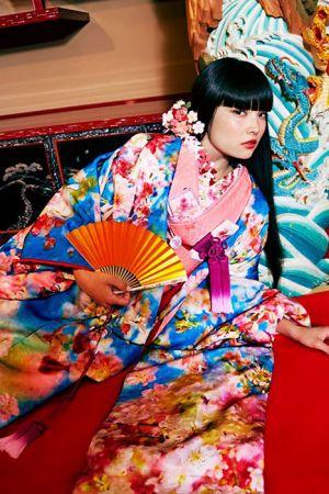 M / mika ninagawa 日式和服婚紗