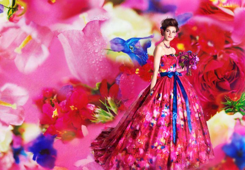 M / mika ninagawa 第四彈西式婚紗