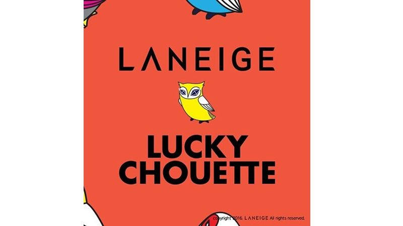 LANEIGE x LUCKY CHOUETTE聯名彩妝預計8月在韓國推出,台灣則要等到9月中才會上市。