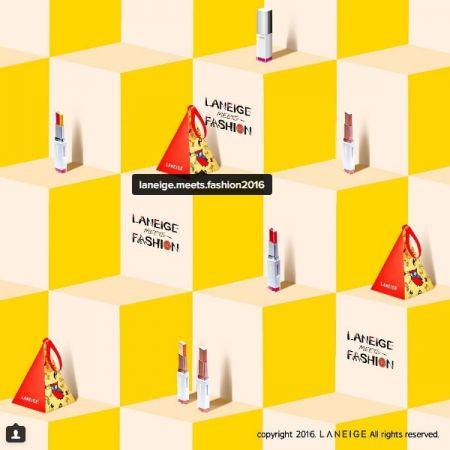 網路上已經可以看到LANEIGE x LUCKY CHOUETTE的新唇妝包裝,造型非常可愛。