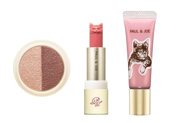 002 甜美高貴貓咪派對妝GINGERBREAD薑餅,內容有:糖果粉紅眼蜜+蜜糖粉修容棒+粉棕色&紅棕色雙色眼影。