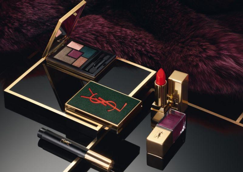2016年YSL推出限量秋妝「禁忌緋語 SCANDAL」,向Saint Laurent先生於1971 年最大膽的創作系列「COLLECTION QUARANTE」致敬。採用墨綠x紫紅色為主調,打造出豔麗的雙唇、對比搶眼的眼妝、大膽狂妄的造型,展現隨性不羈的時尚態度,傳達YSL女人摩登前衛的獨特魅力。