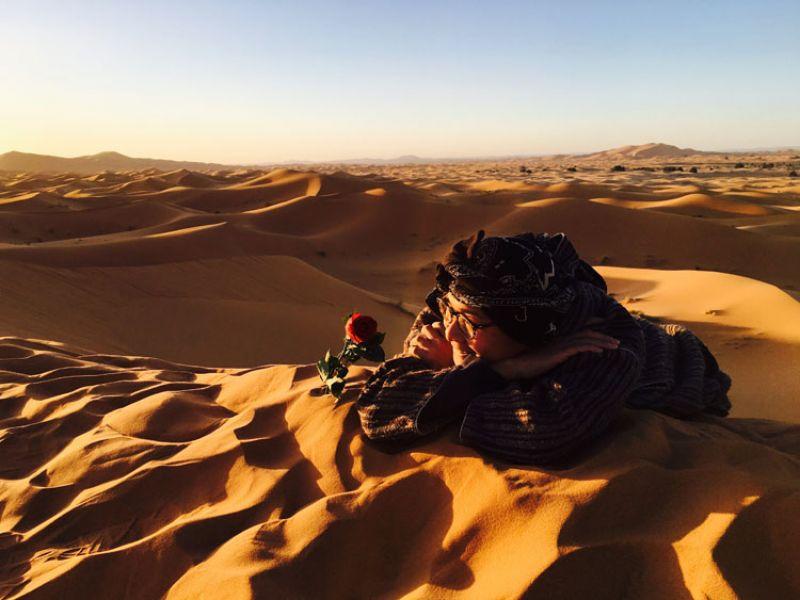 沙漠中的玫瑰,小王子曾經來過這裡