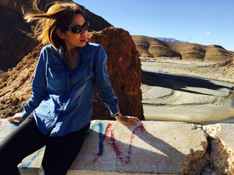 在摩洛哥才見得到的奇幻地形