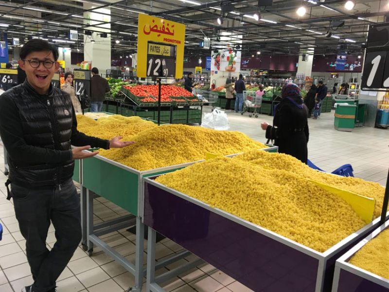 在摩洛哥義大利麵這樣賣?!
