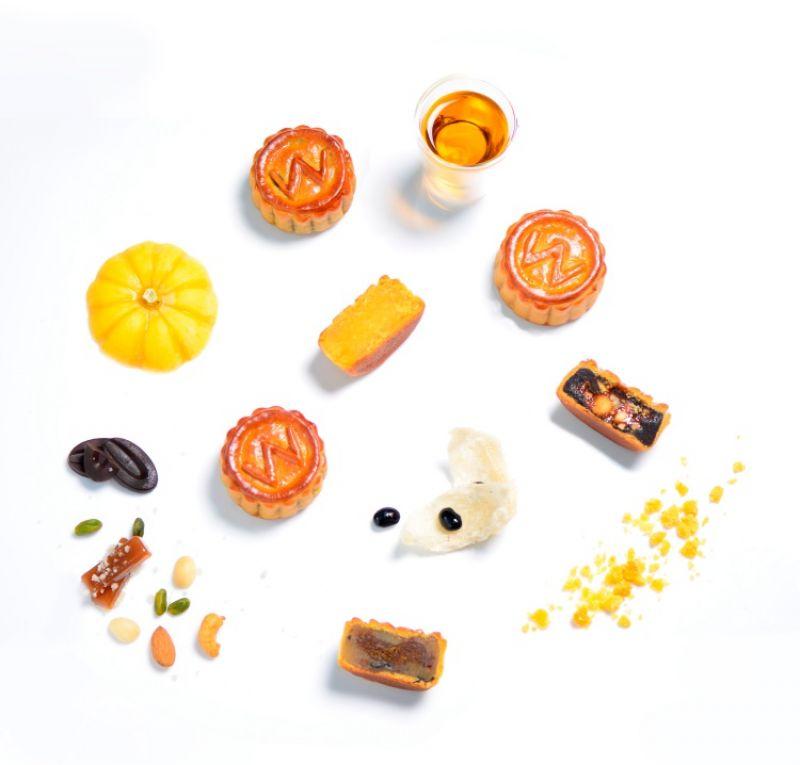 台北W飯店「炫銀月光月餅禮盒」