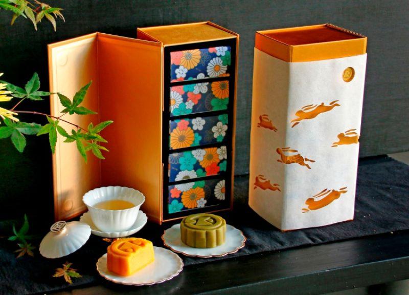 月兔金松月餅禮盒