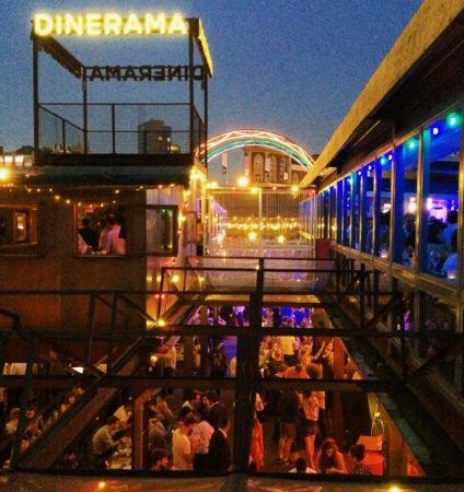 英式夜市 ─ 東倫敦最潮的Dinerama夜市