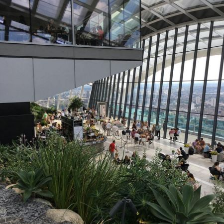 美不勝收 ─ 全歐洲最高的空中花園
