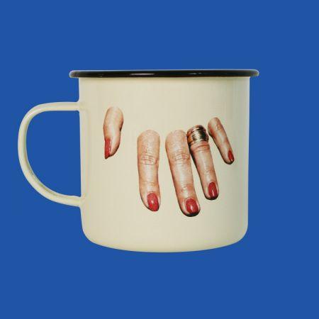 Toiletpaper手指琺瑯瓷杯,NT780