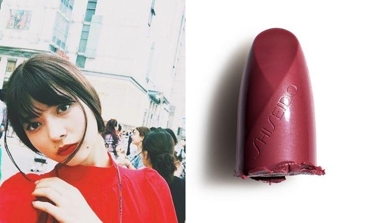 櫻桃紅:既強烈又豐富的棕紅如櫻桃般的紅潤色澤,飽和的紅唇讓人很難不多看你一眼。