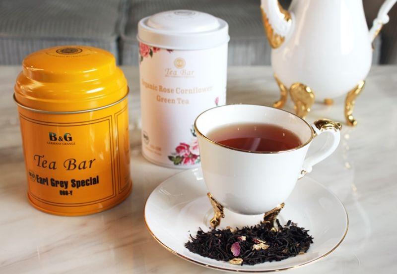 2016年度新茶(有機玫瑰養生煎茶、有機花香伯爵紅茶)