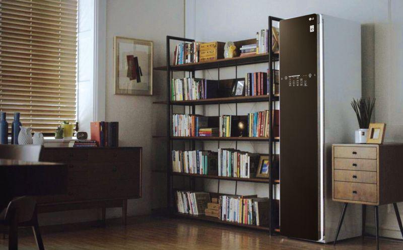 LG Styler智慧電子衣櫥,襯托主人居家裝潢品味