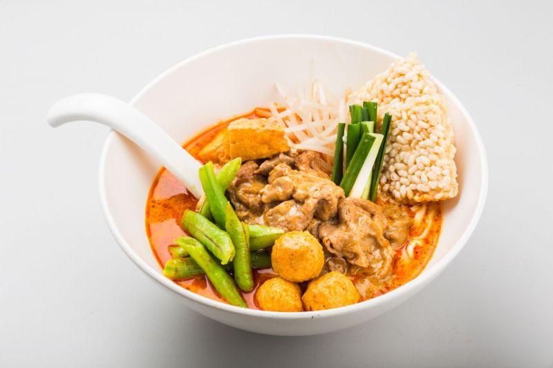 新加坡叻沙牛肉麵