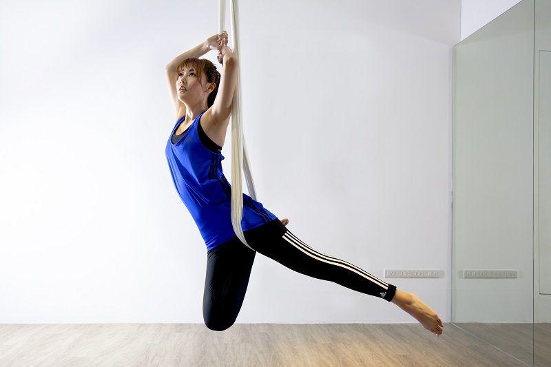 陶嫚曼喜愛的運動裝扮首重「舒適感」,她說:「我覺得任何衣服穿起來舒服就有自信,運動服裝尤其如此,所以材質相當重要!」