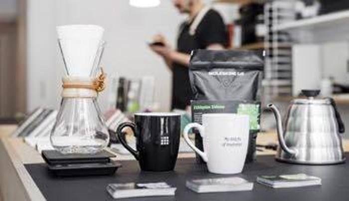 也販售選品式咖啡周邊商品