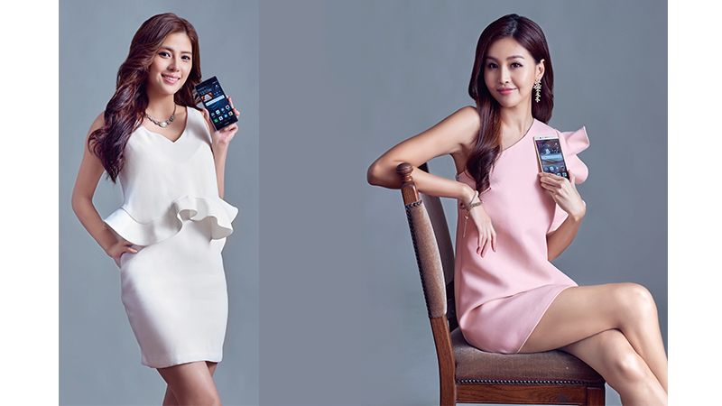 HUAWEI P9 Plus  Leica Smartphone 凱渥名模吳采臻、林葦茹時尚不「攝」限