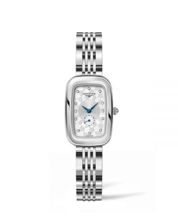 浪琴表新騎士系列腕錶(L6.141.4.77.6),建議售價NT$51,900