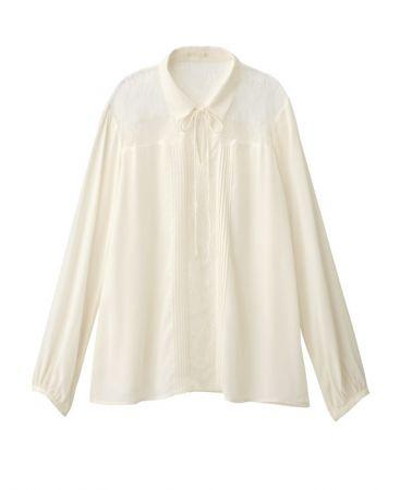 單品一女裝蕾絲設計上衣(長袖)NT$690