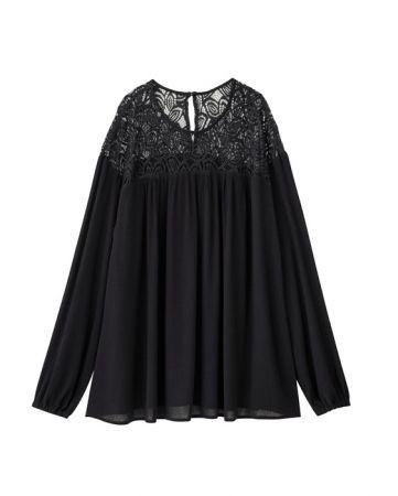 單品二女裝蕾絲上衣(長袖)NT$690
