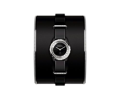 J12∙XS黑色頂級珠寶手鐲腕錶_小型款