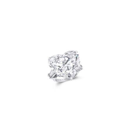 GRAFF 50.38克拉心形鑽石戒指