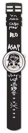 Hip Hop喵貓 PNB102 /NT$ 2700棒球帽和墨鏡為這只尊奉利己主義的貓咪注入hip-hop精神,錶帶更大玩字母藝術。