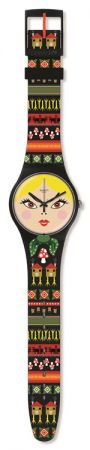 俄國娃娃SUOB137 /NT$ 2350表盤美麗的面孔閃閃發光,表帶豐富的刺繡細節,顯示出才貌雙全、引人注意的特質 !