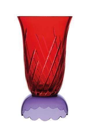 Les Endiablés 系列水晶大花瓶 (紅與紫色) NT$ 140,800