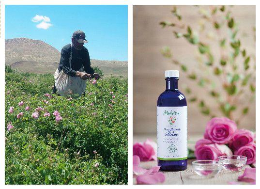 嚴選契作小農,Melvita花粹保有最高活性美膚成分。
