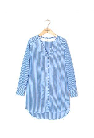 藍白條紋洋裝,Rag & Bone,NT15,000。