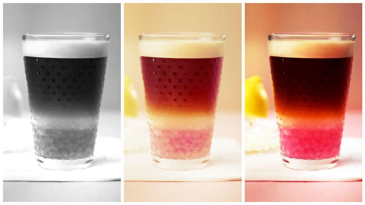 風味膠囊咖啡+果汁,夏日漸層果癮簡單玩