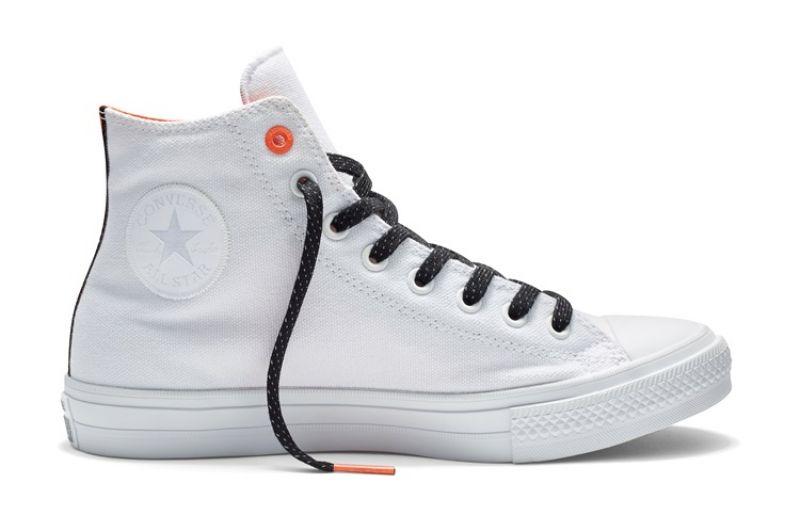 Converse Chuck Taylor All Star II - 白色 紅邊