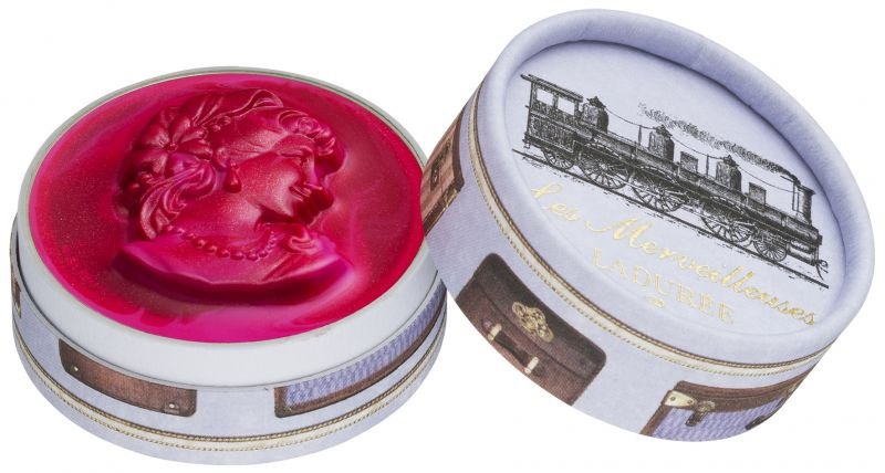 Les Merveilleuses Laduree浮飾混色霧光唇膏,NT1,450103號Tokyo東京:華麗性感的櫻桃粉紅