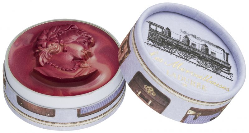Les Merveilleuses Laduree浮飾混色霧光唇膏,NT1,450104號Vapeur蒸氣:高貴優雅的米粉紅色