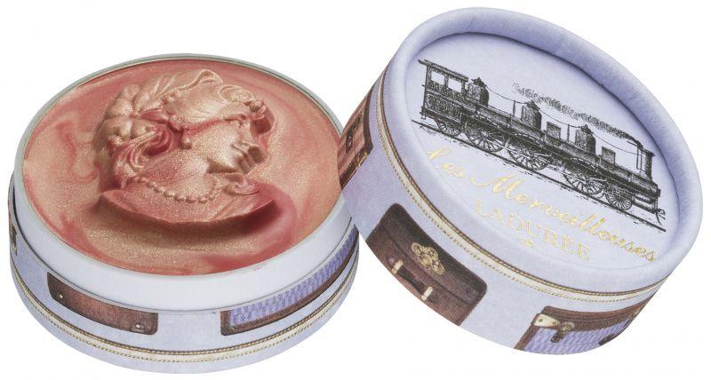 Les Merveilleuses Laduree浮飾混色霧光唇膏,NT1,450105號Express快速:有品味的光澤珊瑚米色