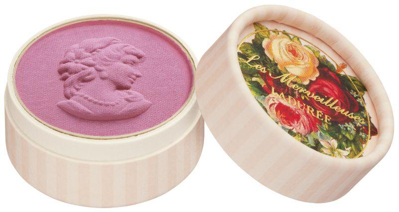 Les Merveilleuses Laduree迷你浮飾仕女頰彩,NT1,45001號Orchidée蘭花:華麗的玫瑰色