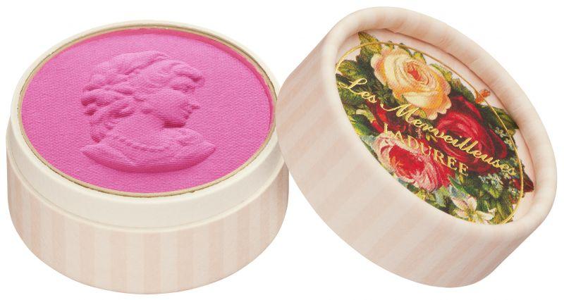 Les Merveilleuses Laduree迷你浮飾仕女頰彩,NT1,45007號Nénuphar睡蓮:如同盛開花朵的紫粉紅