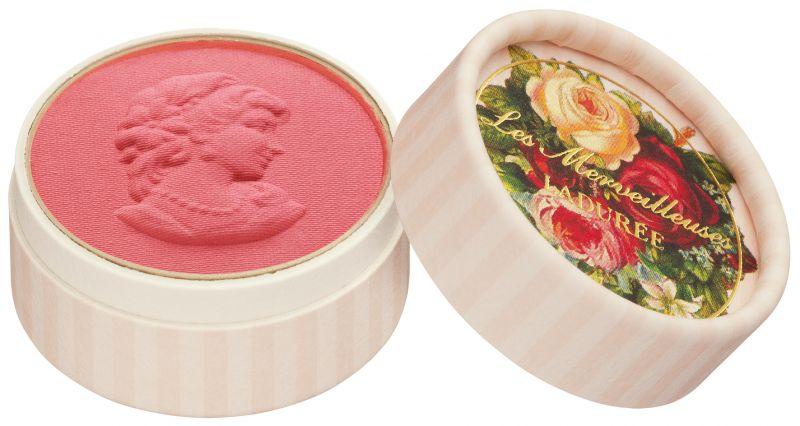 Les Merveilleuses Laduree迷你浮飾仕女頰彩,NT1,45009號Pétunia矮牽牛:優雅華麗的粉桃紅
