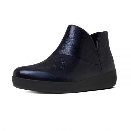 簡約短靴 墨藍色 建議售價6,750元