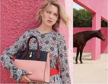 蕾雅瑟杜Léa Seydoux 為Louis Vuitton拍的新的廣告片Spirit of Travel,沒多久,她再度成為新的香水系列代言人。