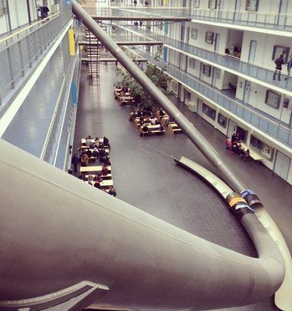 德國—工業大學溜滑梯