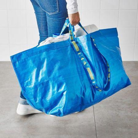 明年也許將成為絕版的frakta環保袋,你已經擁有了嗎(IKEA Danmark FB)