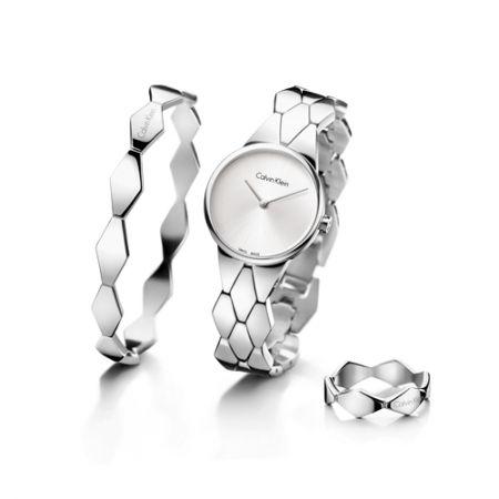 Snake 蜿蜒系列腕錶,NT 9,300,Calvin Klein