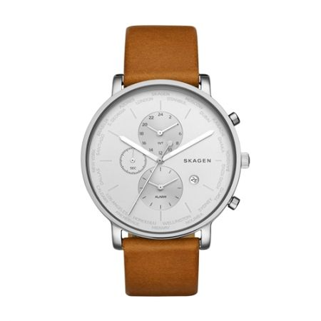 Hagen 世界時區腕錶,NT9,550,SKAGEN