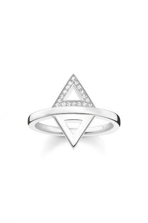 THOMAS SABO 迷你銀三角雙面戒指 NT$7,180