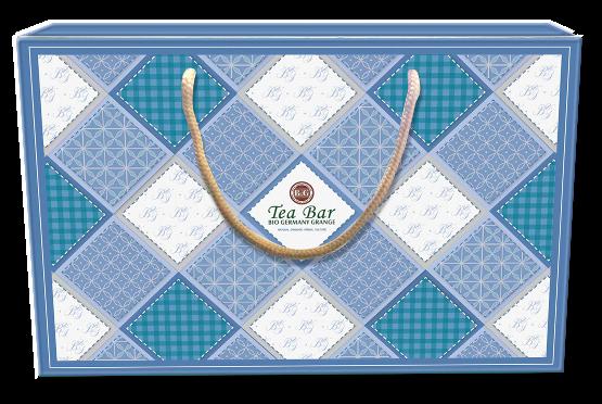 湛藍清新亮顏茶罐禮盒 $1380